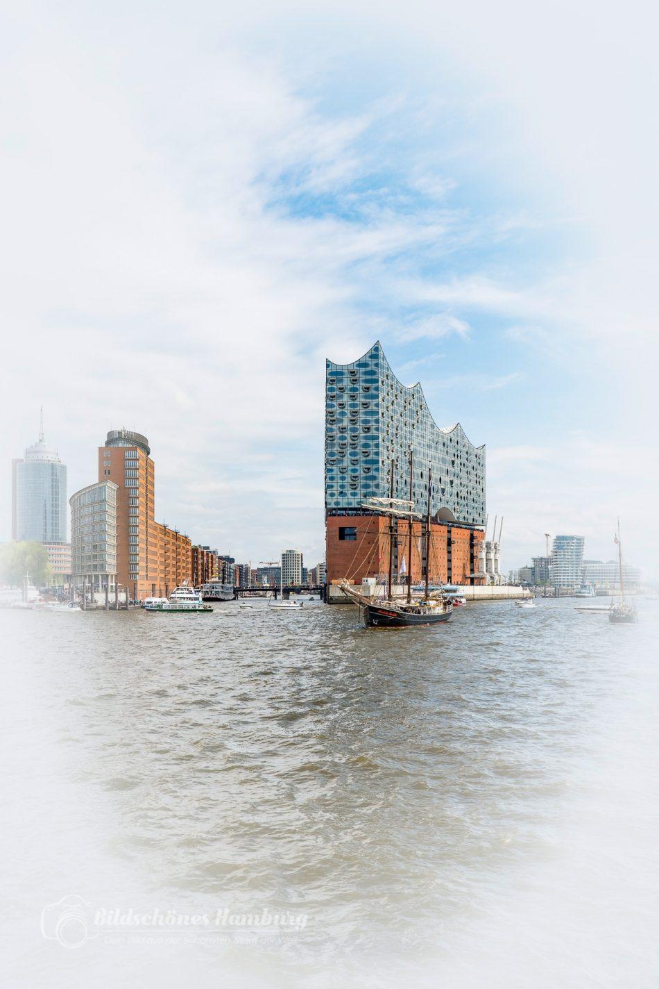 Hamburg Foto von der Elbphilharmonie