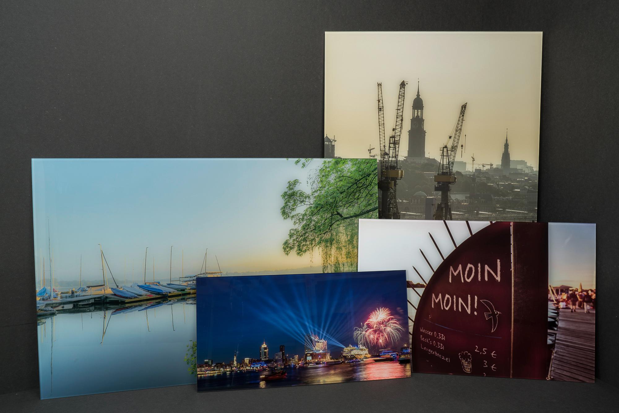 Hamburg Bilder als Galerieprint hinter Plexiglas