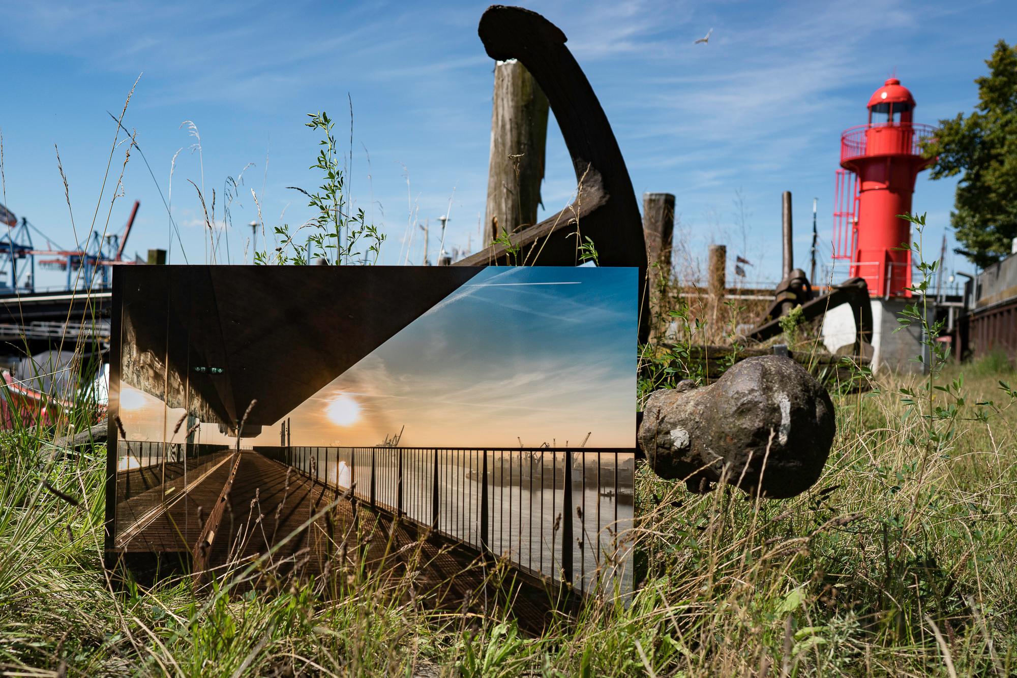 Hamburg Fotos gedruckt auf Aludibond mit matter oder glänzender Veredelung