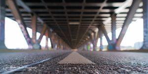 Hamburg Foto unterhalb der Oberhafenbrücke künstlerisch verändert